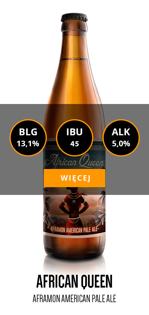 African Queen - Aframon American Pale Ale - Informacje o piwie