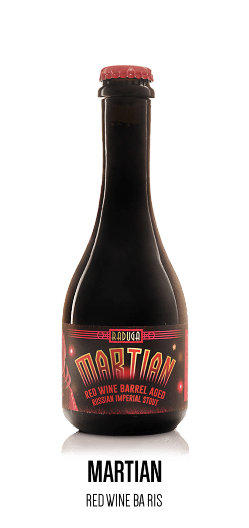 Martian - Red Wine Barrel Aged Russian Imperial Stout