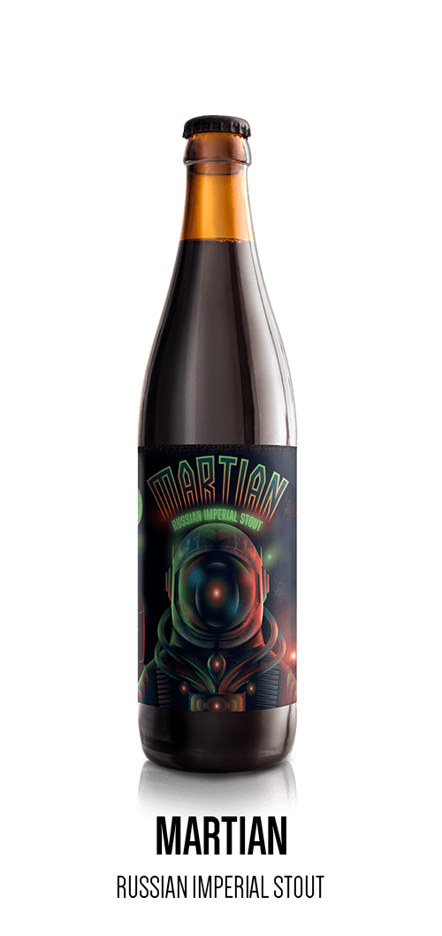 Martian - Russian Imperial Stout