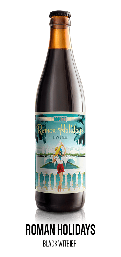 Roman Holidays - Black Witbier