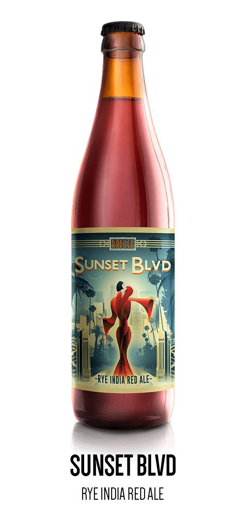 Sunset Blvd - Rye India Red Ale